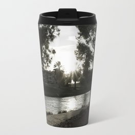 Shadows on the lake Travel Mug