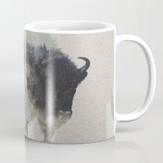 Bison In The Fog Mug