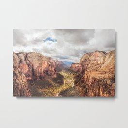 The Canyon Metal Print