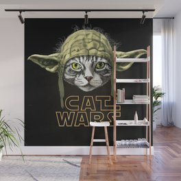 Cat Wars Wall Mural