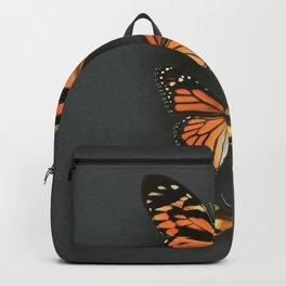 Orange Butterflies Backpack