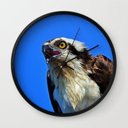Righteous Raptor Wall Clock