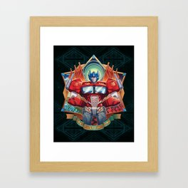 The Exalted One Framed Art Print