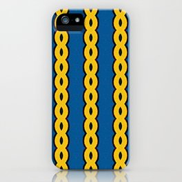 Gold Chain Curtain iPhone Case