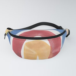 7 | 1903016 Watercolour Abstract Painting | Abstract Arch Fanny Pack