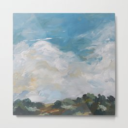original abstract landscape painting number 14 Metal Print