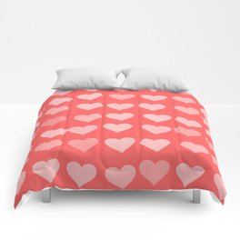 Cute Hearts Comforters