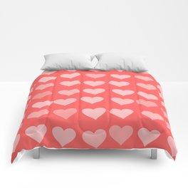 Cute Hearts Comforters