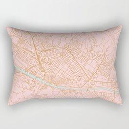 Firenze map Rectangular Pillow