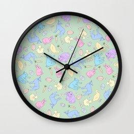 EASTER BABBIES Wall Clock