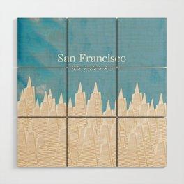 San Francisco TA Wood Wall Art