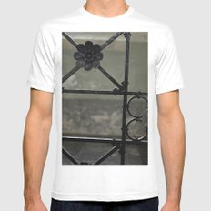 Fence Mens Fitted Tee White MEDIUM