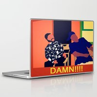 friday Laptop & iPad Skins featuring Friday by Courtney Ladybug Johnson