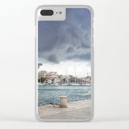 Trogir 1.2 Clear iPhone Case