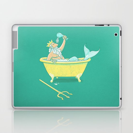 Wireless Shower Head Laptop & iPad Skin