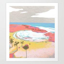 Beach- Mar Chiquita no.2 Art Print