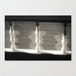 Spindles and Shadows Canvas Print