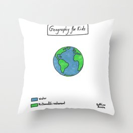 #132 Throw Pillow
