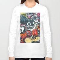 deadmau5 Long Sleeve T-shirts featuring Mickey Mau5 by Matt Pecson