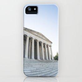Skewed Politics iPhone Case