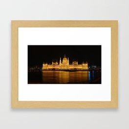 Hungarian Parliament Framed Art Print