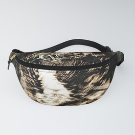 Bird Models: Psychedelic Peacock 01-01 Fanny Pack