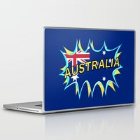 australia Laptop & iPad Skins featuring Australia by mailboxdisco