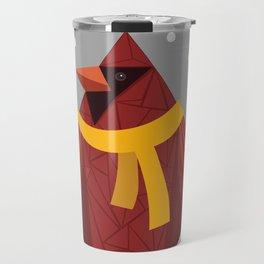 Winter Cardinal  Travel Mug