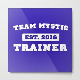 Pokémon Go - Team Mystic Team Shirt Metal Print