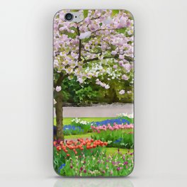 Park painted iPhone Skin
