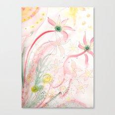 Summer flower meadow Canvas Print