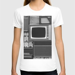 Everything Retro (Black and White) T-shirt