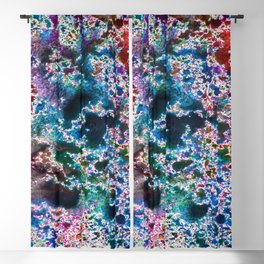 Abstract watercolor splash background Blackout Curtain