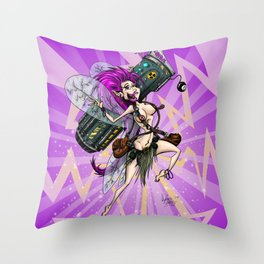 Combat Fairy: Kiani Throw Pillow
