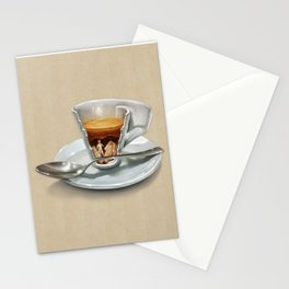 Italian coffee 2.0 Stationery Cards