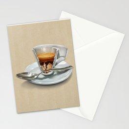 Italian coffee 2.0 Stationery Cards