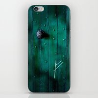 the hobbit iPhone & iPod Skins featuring The Hobbit by Janismarika