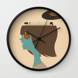 Mind Control Wall Clock