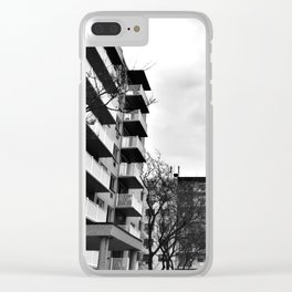 Urban Apartments Clear iPhone Case