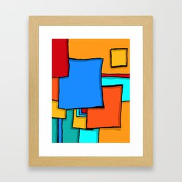 Cargo Ship Containers 11 Framed Art Print