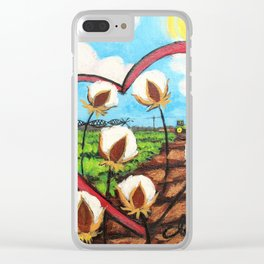 Heart Delta Clear iPhone Case