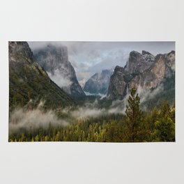 Yosemite National Park / Tunnel View  4/26/15 Rug