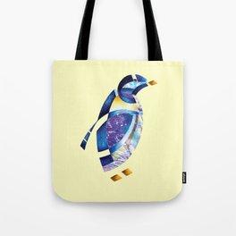 Penguin 2 (Arabic calligraphy) Tote Bag