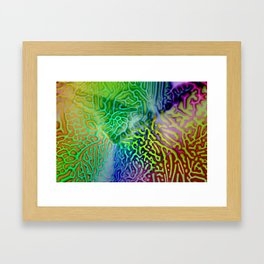 My colored fantasy ... Framed Art Print