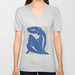 Blue Nude by Henri Matisse  Unisex V-Neck
