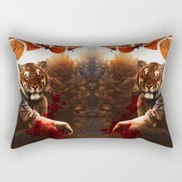 The Beast Beneath Rectangular Pillow