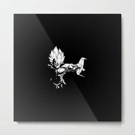 ZDragon Metal Print