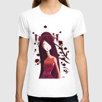geisha T-shirts featuring Geisha by Kaori