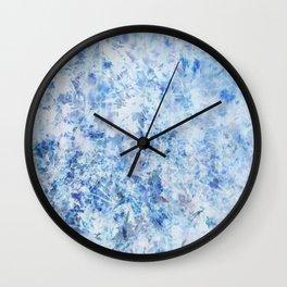 Leaf Me Be #11 Wall Clock