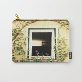 Window and ivy Carry-All Pouch